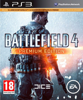 Battlefield 4 Premium Edition + 7 Dlc Ps3