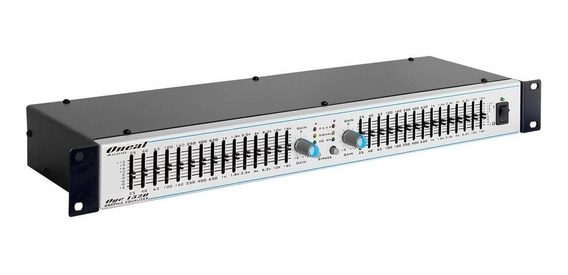 Equalizador Oneal Oge 1520 15 Bandas Stereo C/ Nota Fiscal