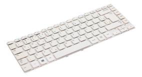 Teclado Para Notebook Samsung Np270e4e-kd5br   Branco
