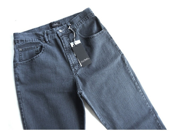 Calça Jeans Masc Pierre Cardin Tradicional Elastano 880/886