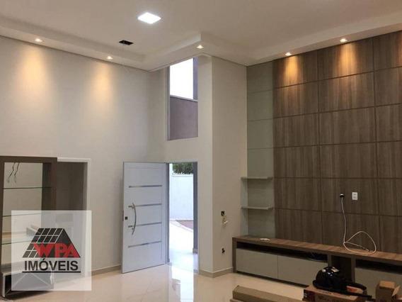 Casa Com 3 Dormitórios À Venda, 165 M² Por R$ 1.080.000,00 - Jardim Primavera - Nova Odessa/sp - Ca2412