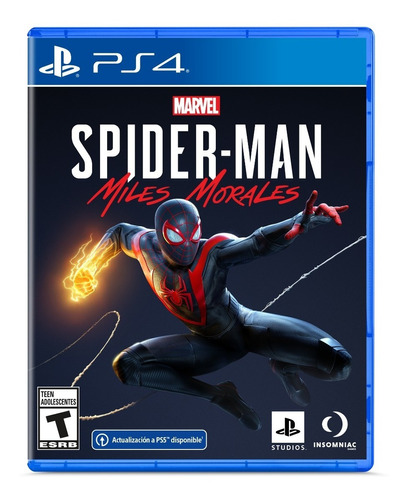 Spider-man: Miles Morales Formato Físico Ps4 Original