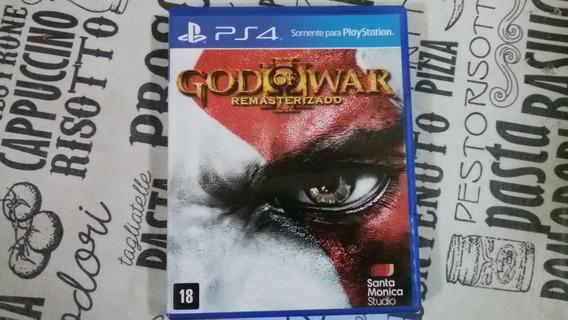 Jogo Ps4 God Of War 3 Mídia Física Ótimo Estado