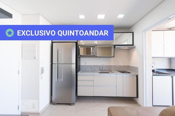 Apartamento No 24º Andar Mobiliado Com 1 Dormitório E 1 Garagem - Id: 892972943 - 272943