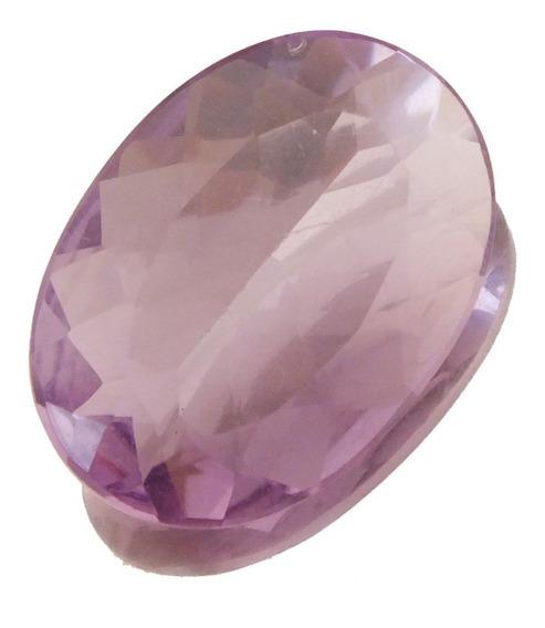 Pedra Preciosa Ametista Natural Roxo Claro Promoção J19540