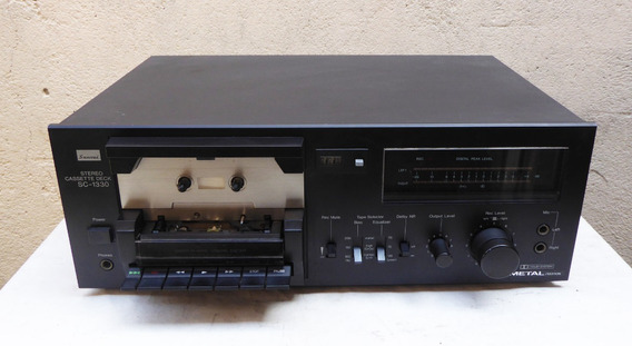 Tape Deck Sansui Sc-1330 - Funcionando