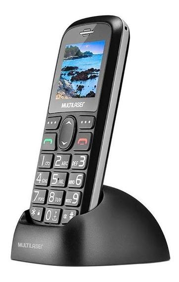 Celular Vita Dual Chip + Base Carregadora Preto P9089