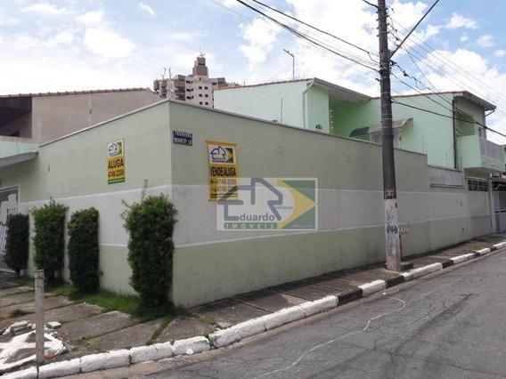 Sobrado Para Alugar, 226 M² Por R$ 2.800/mês - Vila Costa - Suzano/sp - So0111