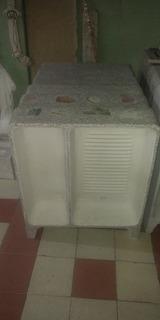 Lavadero De Granito Con Pileta 62cm