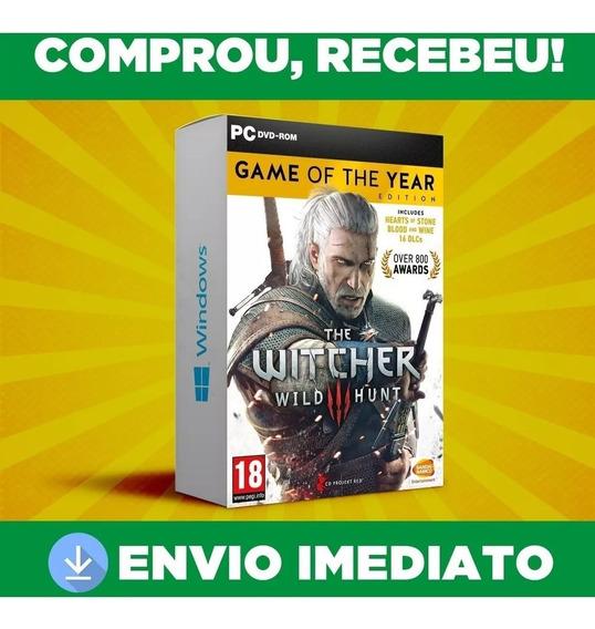 The Witcher 3 Wild Hunt Pc - Português-br - Jogo Digital