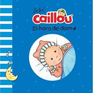 Col. Libro De Baño Bebé Caillou - Es Hora De Dormir - Equip