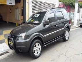 Ford Ecosport Xlt 1.6 Flex 2006 Cinza Completa Com Kit Mult