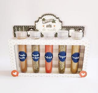 Caixa Kit Porta Condimentos Especial Dia Dos Avós