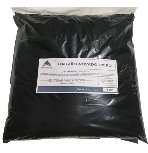 Carvão Ativado Em Pó - 1kg