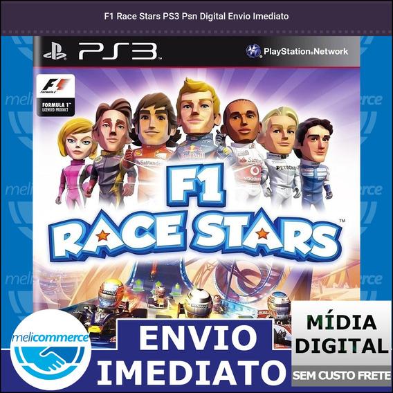 F1 Race Stars Ps3 Psn Digital Envio Imediato