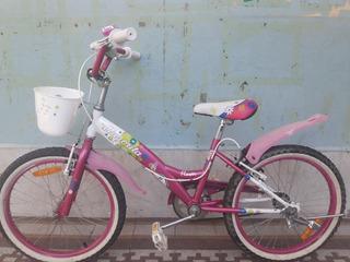 Bicicleta Aurorita Flowers Rodado 20!
