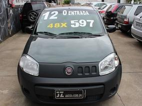 Fiat Uno Vivace 1.0 2p Manual - Carro Zero Entrada