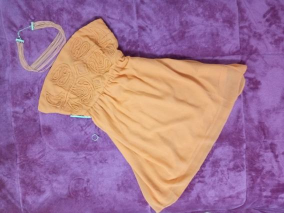 Vestido Tomara Que Caia Acessórios Kit Colar Pulseira Roupa