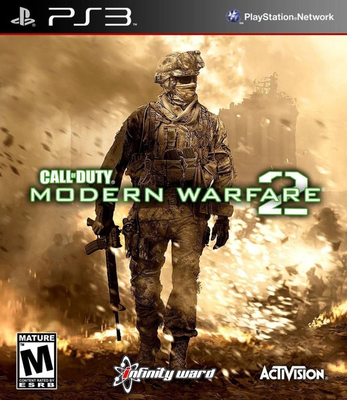 Jogo Call Of Duty Mw2 Modern Warfare 2 Midia Fisica Ps3
