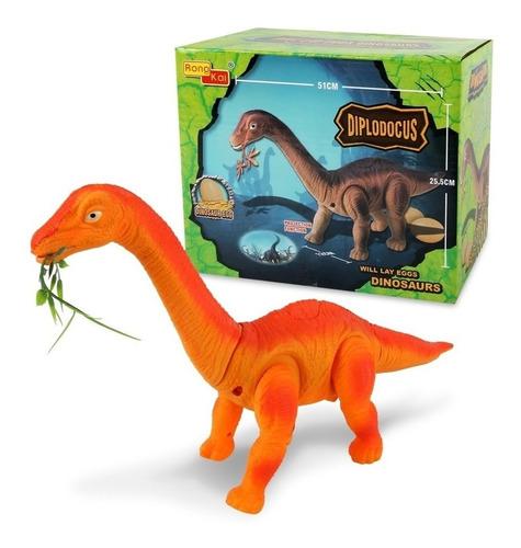 Imagen 1 de 4 de Dinosaurio 51cm Pone Huevos Diplodocus Ref. 6683