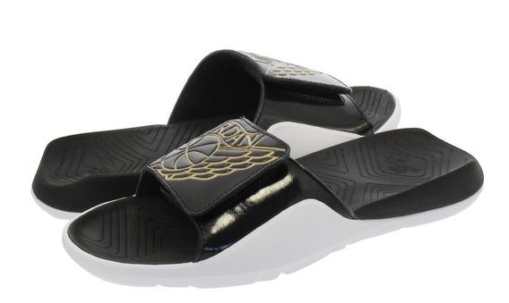 Ojota Jordan Hydro 7 Black Gold