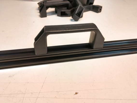 Jaladera De Plástico Para Perfil Estructural 20 Minifab 3d
