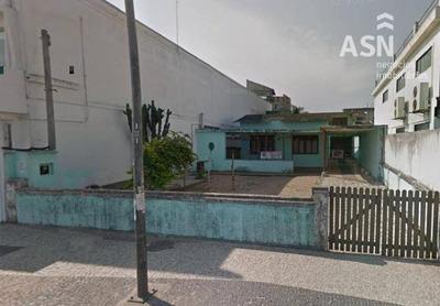 Terreno Comercial De Frente A Praia Do Centro, Com 375 M², Documentado, Localização Privilegiada, Centro - Rio Das Ostras - Te0094
