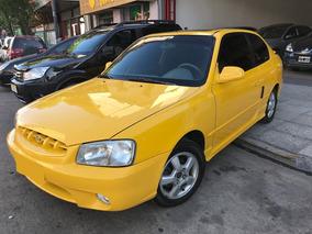 Hyundai Accent Gt Coupe 2001 Unica Mano