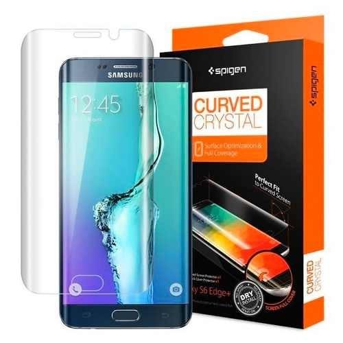 Pelicula Spigen Curved Crystal Galaxy S6 Edge Plus Sgp11694
