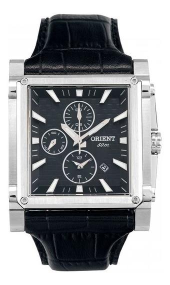 Relógio Masculino Orient Analógico Gbscc015 Preto Cinza-clar