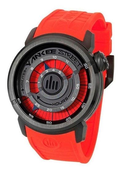Relógio Yankee Street Masculino Ys30167v - Vermelho/preto