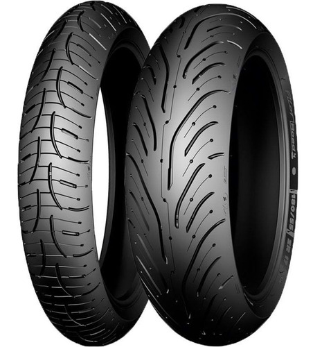 Cubierta Michelin 190 50 17 Pilot Road 4 Zr Pista Sti Motos