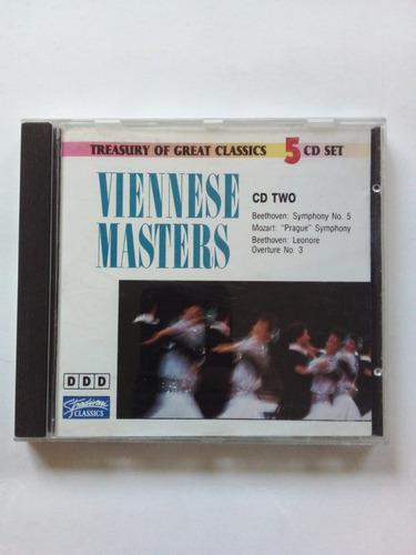 Imagen 1 de 3 de Viennese Masters 2 - Ljubljana Symphony Orch Stradivani Cd U