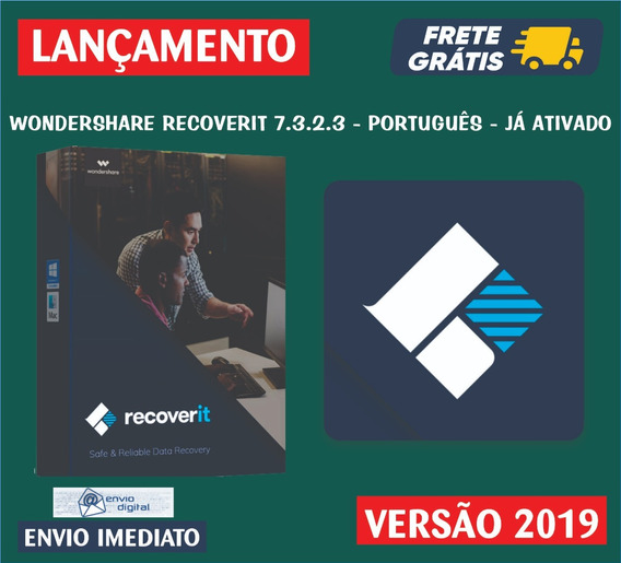 Wondershare Recoverit 7.3.2 / Data Recovery / Envio Imediato