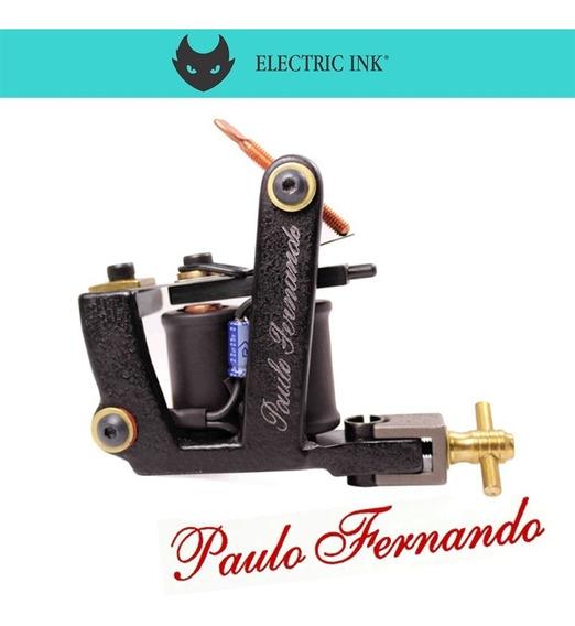 Máquina De Tatuagem Paulo Fernando Híbrida Percy Waters