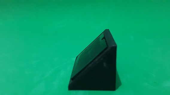 Suporte Conector Plastico 2 Furos Preto Kit 20 Pçs (279)