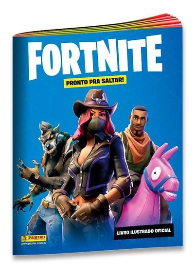 Livro Ilustrado Oficial Fortnite - Capa Cartão