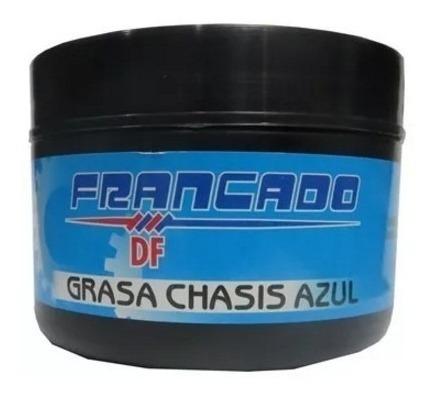Grasa Chasis Azul 250gr. Marca Francado