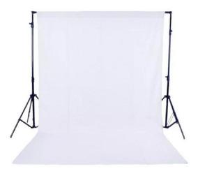 Fundo Infinito Fotográfico Branco Em Tecido Poliéster 3x6