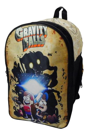 Gravity Falls Mochila Backpack Bill Cipher Dipper Mabel
