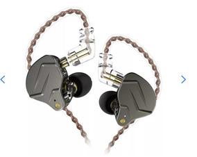Fone In Ear Kz Zsn Pro Retorno Monitor Palco + Brinde