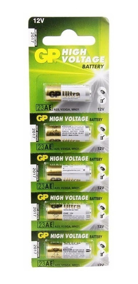 Bateria A23 12v Gp C100 Unidades Frete Gratis Original
