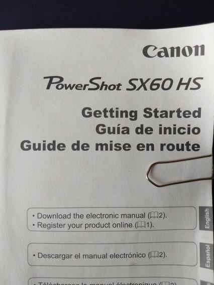 Camara Fotográfica Canon Power Shot Sx60 Hs