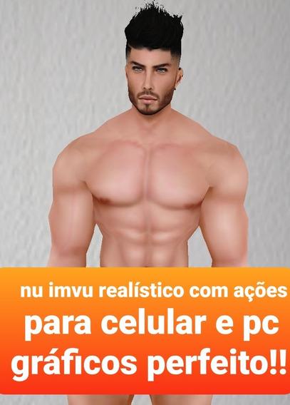Nu Imvu Realístico-com Ações Para Celular E Pc!!