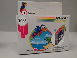 Cartucho Max Color Mci-t633 Para Epson X 10 Unidades