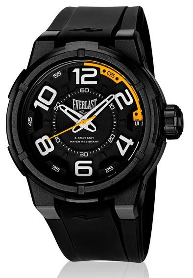 Relógio Pulso Everlast Torque E686 Caixa Abs Pulseira Preto