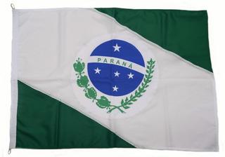 Bandeira Oficial Do Estado Do Paraná 128x90 Bordado -2p