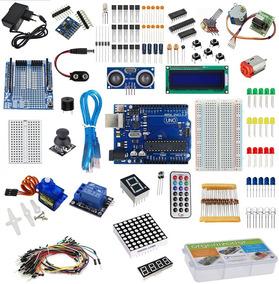 Kit Arduino Uno Starter Automação + Estojo + Brinde