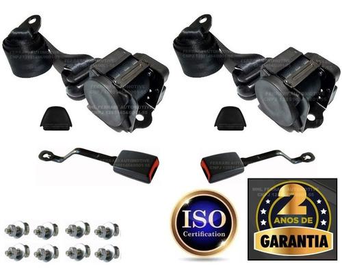 Kit Cinto De Segurança Gol Quadrado G1 G2 G3 G4 G5 Apolo  Lx