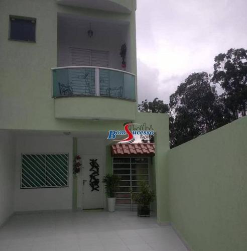 Sobrado Com 3 Dormitórios À Venda, 105 M² Por R$ 550.000 - Vila Formosa - São Paulo/sp - So1603
